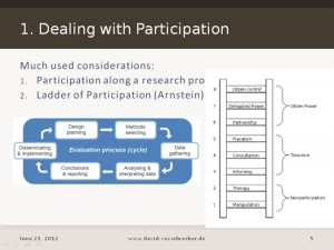 Teaser Presentation: Participatory Methodology...